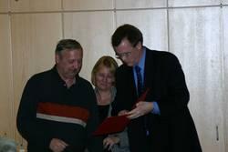 Joachim Pissarek hat der SPD 25 Jahre die Treue gehalten.