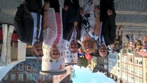 Eröffnung des NRW Festes...mit OB Thomas Geisel, Marion Warden und Inge Blask MdL sowie SPD Ratsherr Udo Figge
